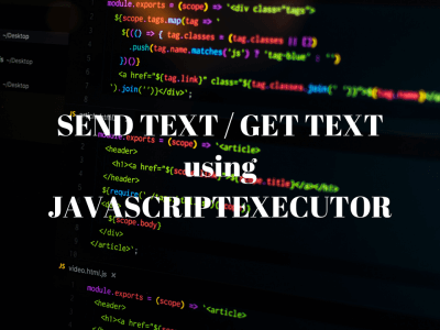SendText_JavascriptExecutor_Featured_Image_Techndeck