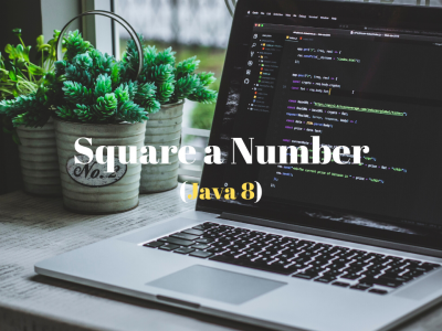 Square a number in Java